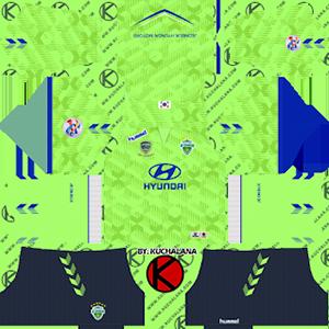 Jeonbuk Hyundai Motors FC acl home kit 2019-2020 dream league soccer