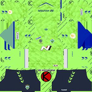 Jeonbuk Hyundai Motors FC Kits 2019/2020 Dream League Soccer