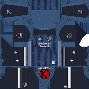 LA Galaxy away kit 2019-2020 dream league soccer