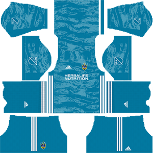 LA Galaxy goalkeeper away kit 2019-2020 dream league soccer