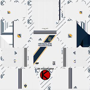 LA Galaxy Kits 2019/2020 Dream League Soccer
