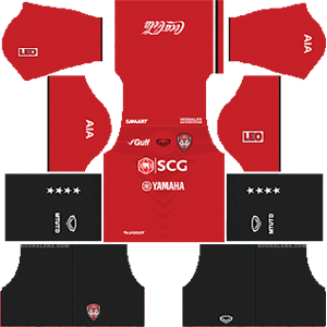 Muangthong United FC Kits 2019/2020 Dream League Soccer