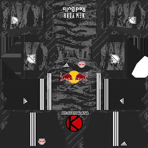 new york Red Bulls goalkeeper home kit 2019-2020 dream league soccer