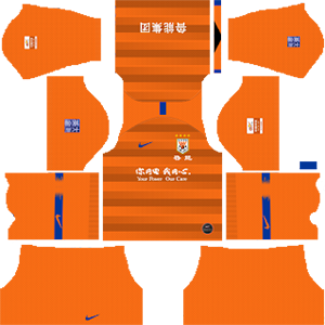 Shandong Luneng Taishan FC Kits 2019/2020 Dream League Soccer