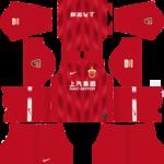 Shanghai SIPG FC Kits 2019/2020 Dream League Soccer