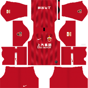 Shanghai SIPG FC Kits 2019/2020 Dream League Soccer
