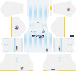 Ulsan Hyundai FC acl away kit 2019-2020 dream league soccer