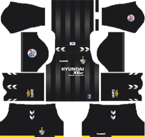 Ulsan Hyundai FC acl goalkeeper away kit 2019-2020 dream league soccer