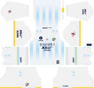 Ulsan Hyundai FC away kit 2019-2020 dream league soccer
