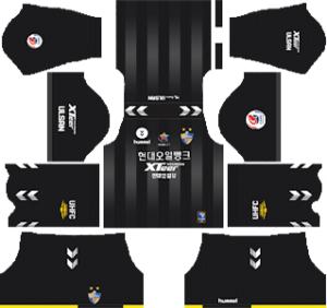Ulsan Hyundai FC goalkeeper away kit 2019-2020 dream league soccer