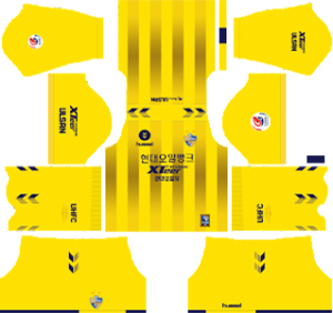 Ulsan Hyundai FC goalkeeper home kit 2019-2020 dream league soccer