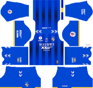 Ulsan Hyundai FC Kits 2019/2020 Dream League Soccer