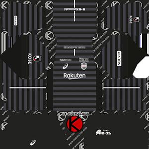 Vissel Kobe third kit 2019-2020 dream league soccer