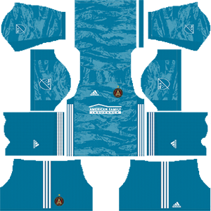 atlanta united goalkeeper home kit 2019-2020 dream league soccer