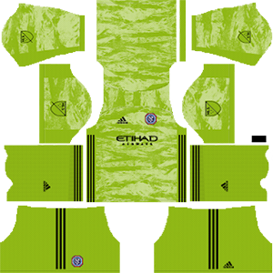 new york city goalkeeper away kit 2019-2020 dream league soccer