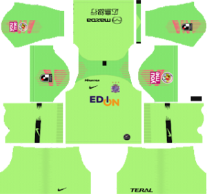 sanfrecce hiroshima goalkeeper home kit 2019-2020 dream league soccer