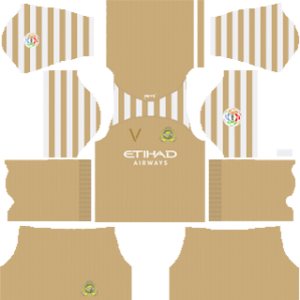 Al-Nassr FC goalkeeper away kit 2019-2020 dream league soccer