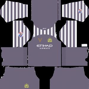 Al-Nassr FC acl goalkeeper home kit 2019-2020 dream league soccer