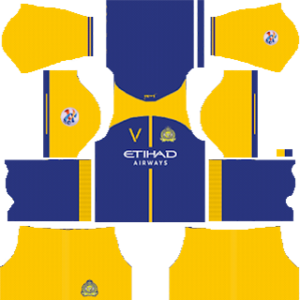 Al-Nassr FC acl home kit 2019-2020 dream league soccer