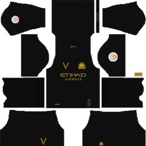 Al-Nassr FC third kit 2019-2020 dream league soccer