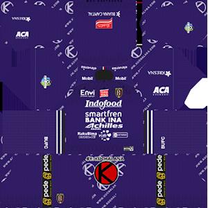 Bali United goalkeeper home kit 2019-2020 dream league soccer