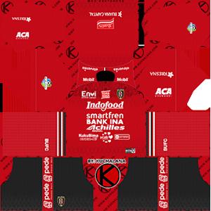 Bali United FC Kits 2019/2020 Dream League Soccer