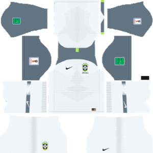 Brazil goalkeeper home kit 2019-2020 dream league soccer