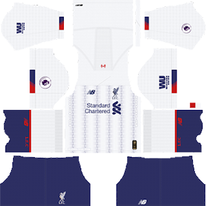 Liverpool away kit 2019-2020 dream league soccer