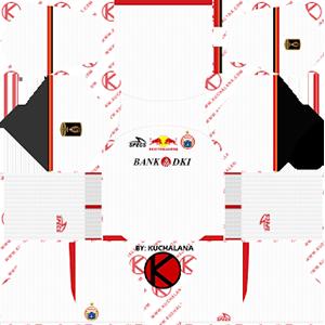 Persija Jakarta Piala Presiden away kit 2019-2020 dream league soccer