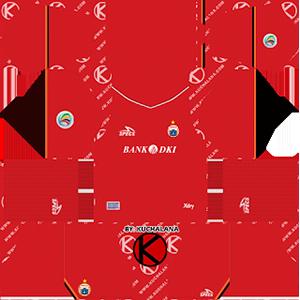 Persija Jakarta Kits 2019/2020 Dream League Soccer
