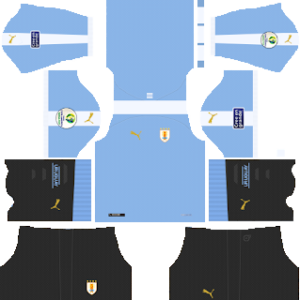 uruguay home kit 2019-2020 dream league soccer