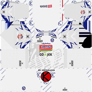 arema fc Indonesia Liga 1 away kit 2019-2020 dream league soccer