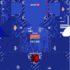 arema fc Indonesia Liga 1 home kit 2019-2020 dream league soccer