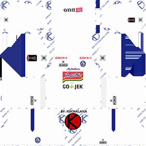 arema fc away kit 2019-2020 dream league soccer