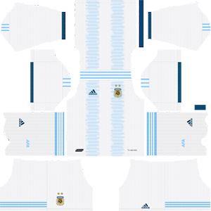 argentina home kit 2019-2020 dream league soccer