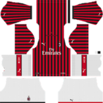 AC Milan Kits 2019/2020 Dream League Soccer