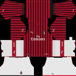 AC Milan Kits 2019/2020 Dream League Soccer