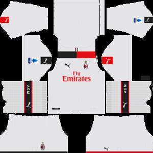 AC Milan away kit 2019-2020 dream league soccer
