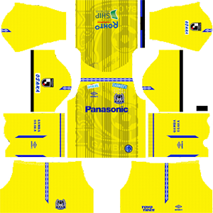 Gamba Osaka goalkeeper away kit 2019-2020 dream league soccer