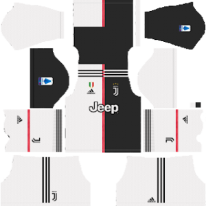 Juventus Kit 2019-2020 Home (White shorts)