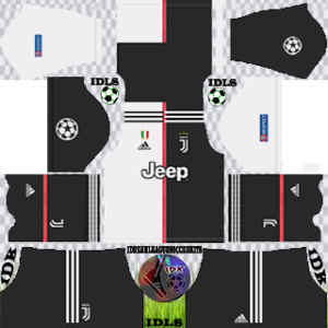 Juventus ucl home kit 2019-2020 dream league soccer