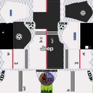 Juventus ucl home kit 2019-2020 dls