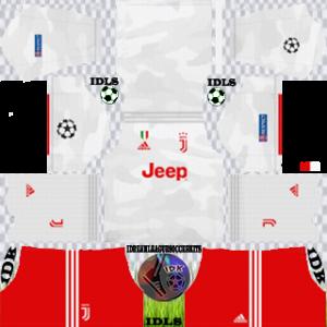 Juventus ucl away kit 2019-2020 dream league soccer