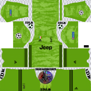 Juventus ucl gk away kit 2019-2020 dream league soccer