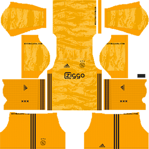AFC Ajax goalkeeper home kit 2019-2020 dream league soccer