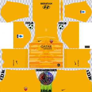 AS Roma gk home kit 2019-2020 dream league soccer