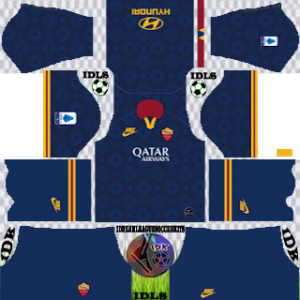 AS Roma Third kit 2019-2020 dream league soccer