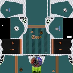 Ajax UCL away kit 2019-2020 dream league soccer