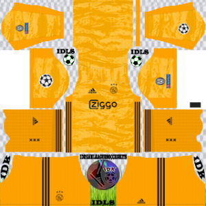Ajax UCL gk home kit 2019-2020 dream league soccer