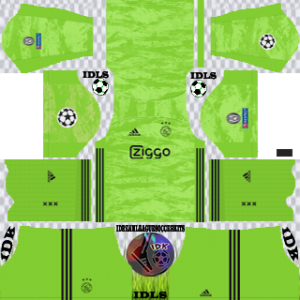 Ajax UCL gk away kit 2019-2020 dream league soccer